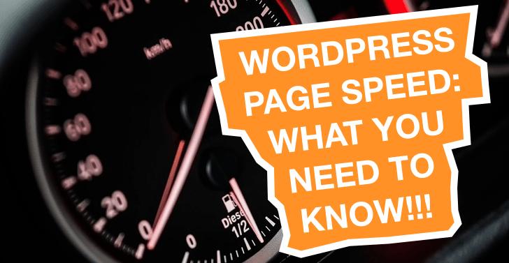 Improve WordPress Page Speed