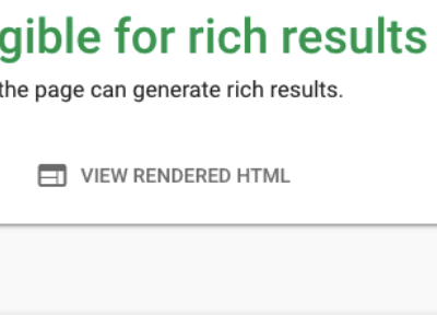 Rich Results Test